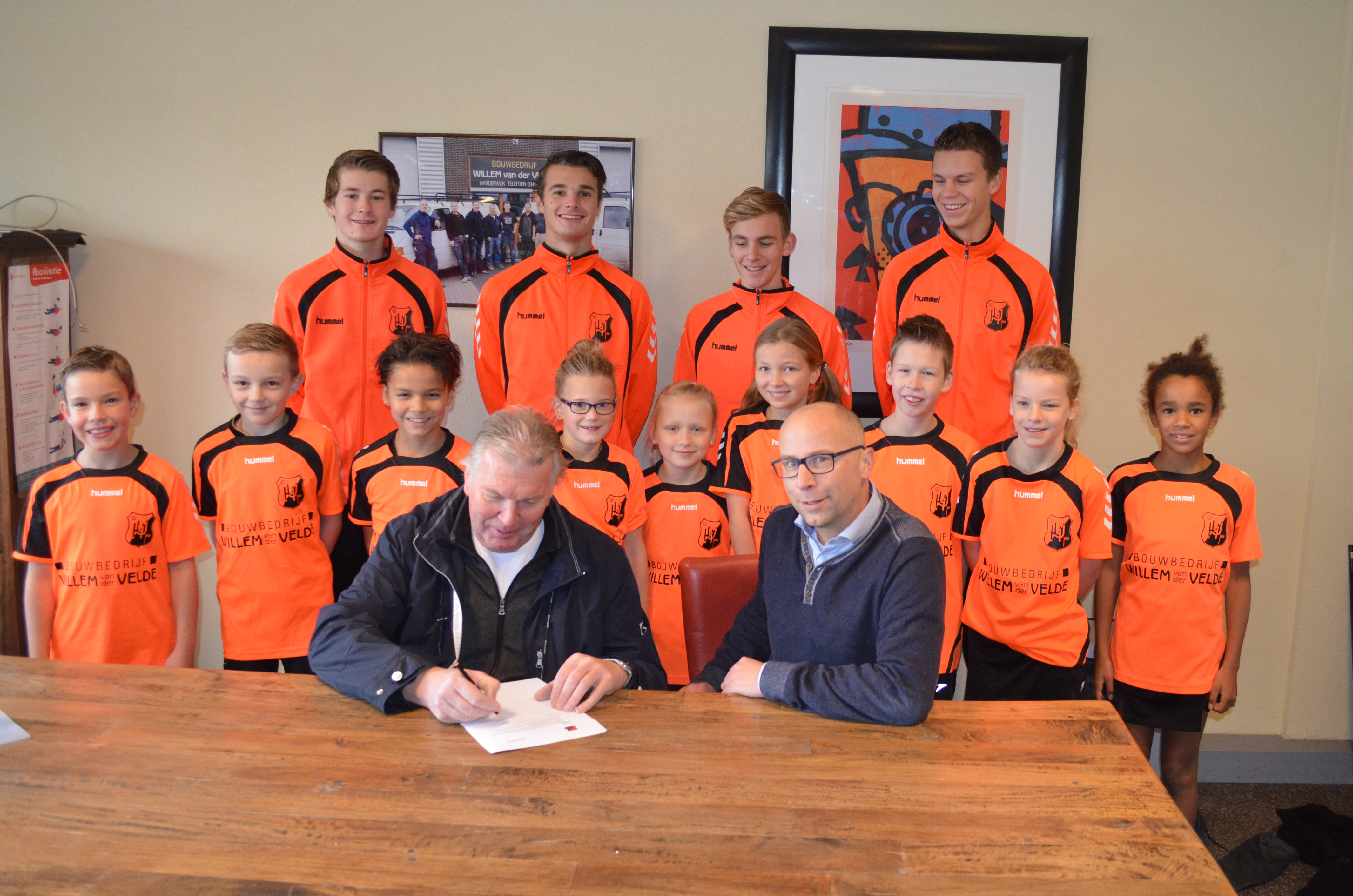 Bouwbedrijf Willem Van Der Velde Sponsort E1 En E2 Www